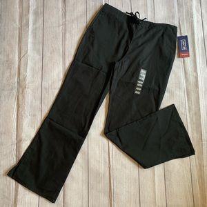 NWT Cherokee Workwear Black Scrubs XS Petite